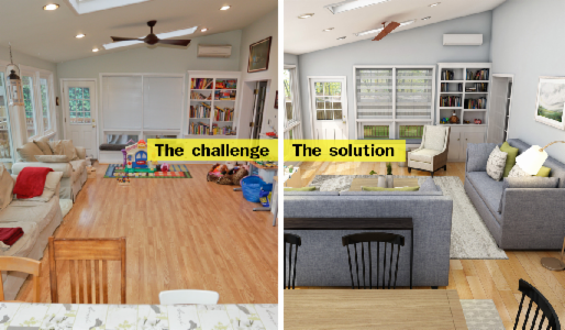 Virtual Room Makeover sub   apply to house calls for a virtual room makeover